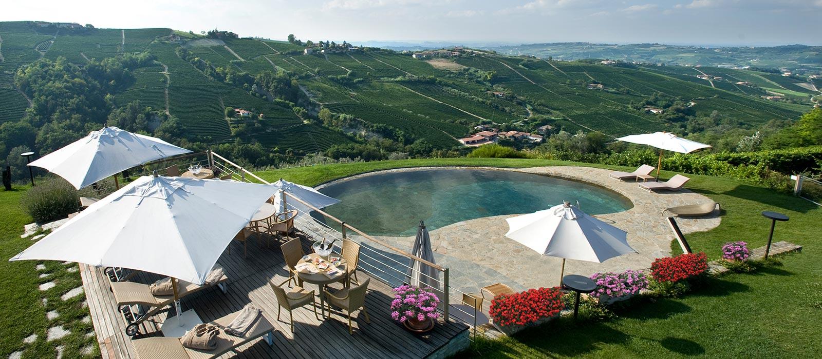 Hotel con piscina nelle Langhe - Albergo Castiglione Langhe